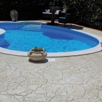 external paving stamped concrete for floors