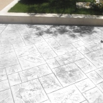 stamped concrete floors in cement