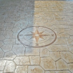 stamped concrete prices - wind rose