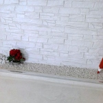stone effect covering
